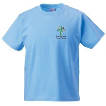 Springfield Primary School PE T-Shirt
